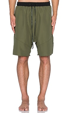 knomadik by Daniel Patrick Roaming Trunk in Olive & Black