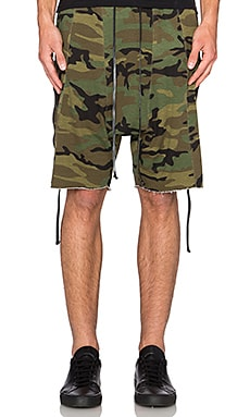 knomadik by Daniel Patrick Roaming Short III in Camo