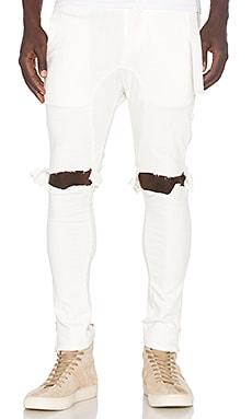 x T-Raww Ripped Skinny Jeans