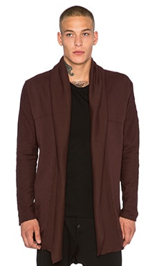 knomadik by Daniel Patrick Shield Cloak II in Burgundy