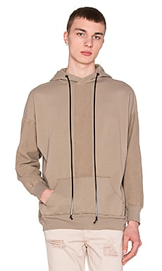 knomadik by Daniel Patrick Road Hoodie in Wheat