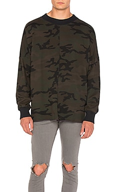 Daniel Patrick Hero Sweat III in Dark Camo