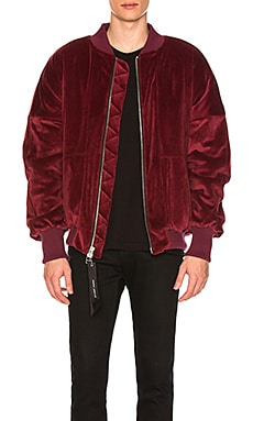 Velour Hero Bomber