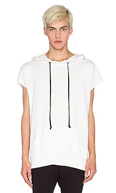 knomadik by Daniel Patrick Shield Hood III in White
