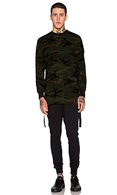 knomadik by Daniel Patrick Hero Sweat II in Camo