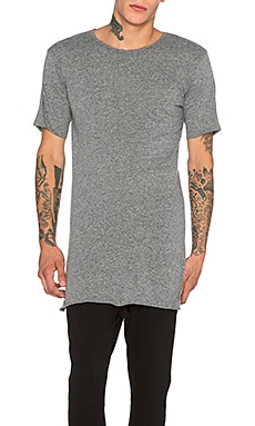 knomadik by Daniel Patrick Knomad Loose Tee in Heather Grey