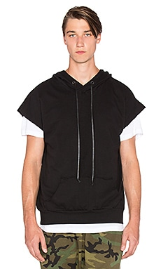 knomadik by Daniel Patrick Shield Hood III in Black