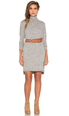 Knot Sisters Binkers Dress in Heather Grey