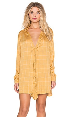 Knot Sisters Ludlow Dress in True Mustard
