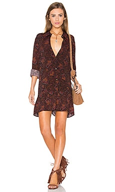 Knot Sisters Cedar Dress in Hindu Print