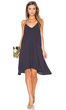 Knot Sisters Gloria Slip Dress in Navy