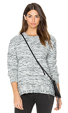 Reese Sweater in White Heather