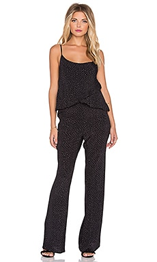 Knot Sisters Lady Jumpsuit in Dainty Dot
