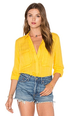 Knot Sisters The Charlotte Top en Spectra Yellow