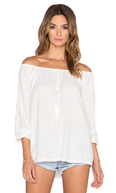 Knot Sisters Topanga Top in Cream