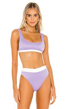 Abbey Reversible Bikini Top KYA $56