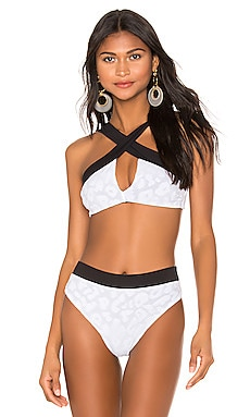Coco Reversible Bikini Top KYA $55