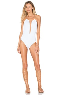 KOA Day Dreamer One Piece in White & Jean