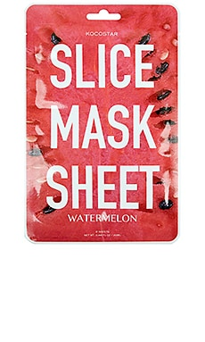 MÁSCARA DE LA HOJA SLICE MASK SHEET WATERMELON KOCOSTAR $5