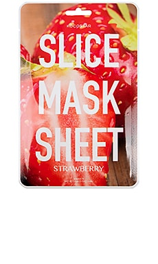 MÁSCARA DE LA HOJA SLICE MASK SHEET STRAWBERRY KOCOSTAR $5