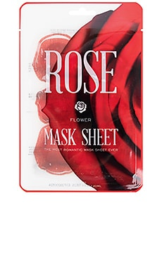 MÁSCARA DE LA HOJA FLOWER MASK ROSE KOCOSTAR $5