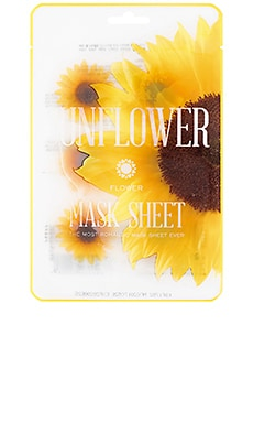 MÁSCARA DE LA HOJA FLOWER MASK SUNFLOWER KOCOSTAR $5