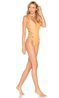 Rio One Piece Swimsuit in Peach