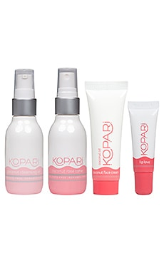 KIT SOIN DU VISAGE FACE THE DAY Kopari $42