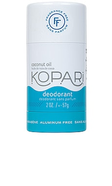 Natural Aluminum-Free Fragrance Free Deodorant Kopari $14 BEST SELLER