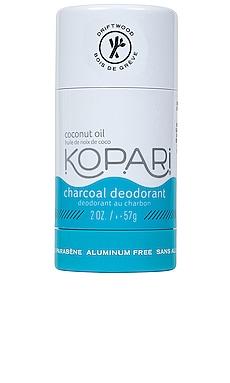 Charcoal Deodorant Kopari $14
