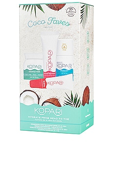 Coco Faves Kit Kopari $28