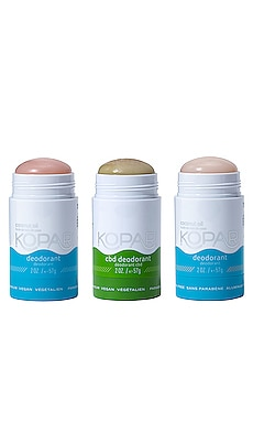 KIT DESODORANTE DITCH THE TOXINS Kopari $32