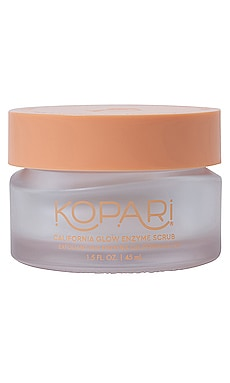 California Glow Enzyme Facial Scrub Kopari $28 NEW