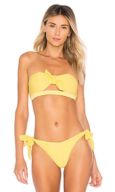 Купить Верх купальника riri - KOPPER & ZINK желтого цвета