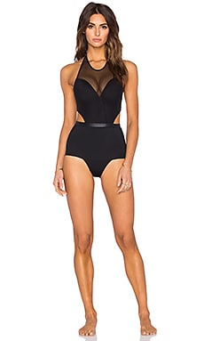 KORE SWIM Arc Onyx One Piece in Black