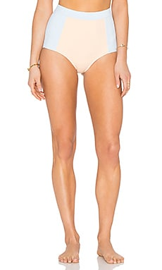 KORE SWIM Athena Air Bottom in Air Blue & Peach