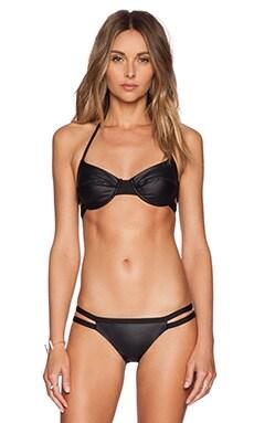 KORE SWIM Siren Bikini Top in Onyx