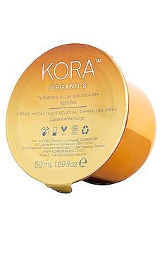 Turmeric Glow Moisturizer Refill Pod KORA Organics $46