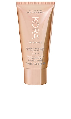Turmeric Brightening and Exfoliating Mask 30ml KORA Organics $16