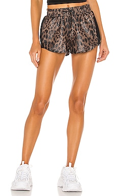 Power Shiny Netz Shorts KORAL $115 BEST SELLER