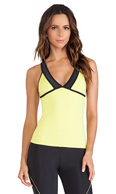 koral activewear Cross Tank in Geo & Spriti
