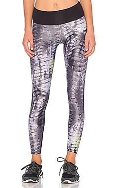 koral activewear Sosaku Emmulate Legging in Sosaku & Black