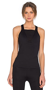 koral activewear Ratio Tank in Black