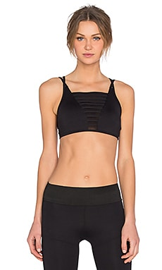 koral activewear Ladder Versatility Bra in Black