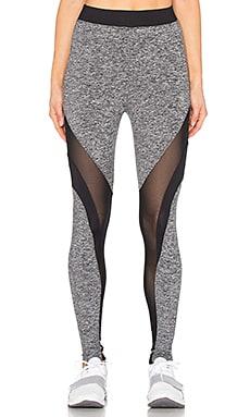 KORAL Frame Legging in Heather Grey & Black