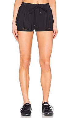 KORAL League Double Layer Shorts in Black