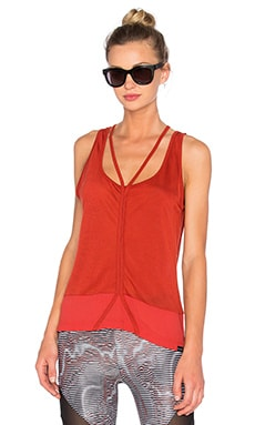 KORAL Plait Sleeveless Top in Ochre