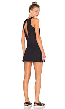 KORAL Pivot Tennis Dress in Black
