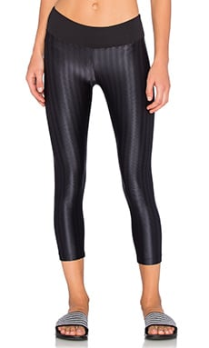 Liquid Capri Legging in Black