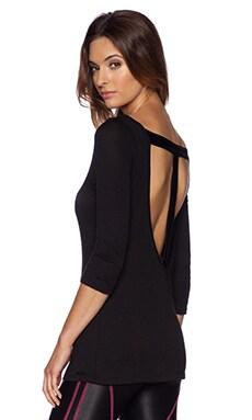 koral activewear Descent Top in Black